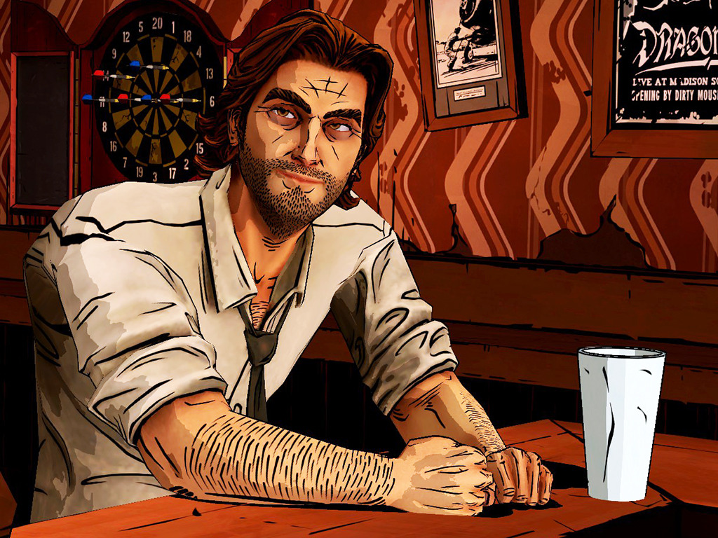 Bigby Wolf Tears Crooked Mans Throat Wolf Among Us  Telltale  Fables Final Ending