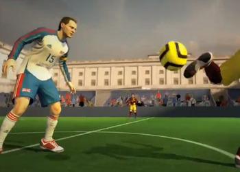 Снимок экрана FIFA Стрит 4