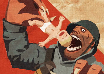 Снимок экрана Team Fortress 2