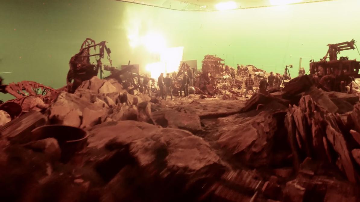 Вweb-сети появилось видео осоздании фильма «Мстители: вражда бесконечности»