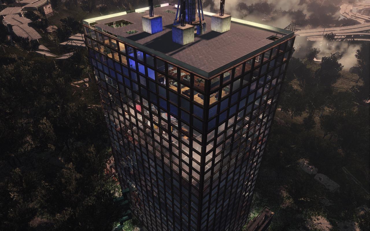 небоскреб в Fallout 4
