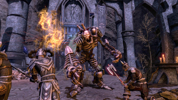 Запись на открытое beta-тестирование игры The Elder Scrolls On-line раскрыта!