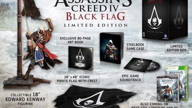 Ubisoft продемонстрировала свежее издание Assassin'с Creed IV: White Flag и очередной трайлер к игре