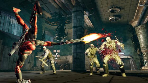Activision продемонстрировала геймплей игры Deadpool в новом видеоролике
