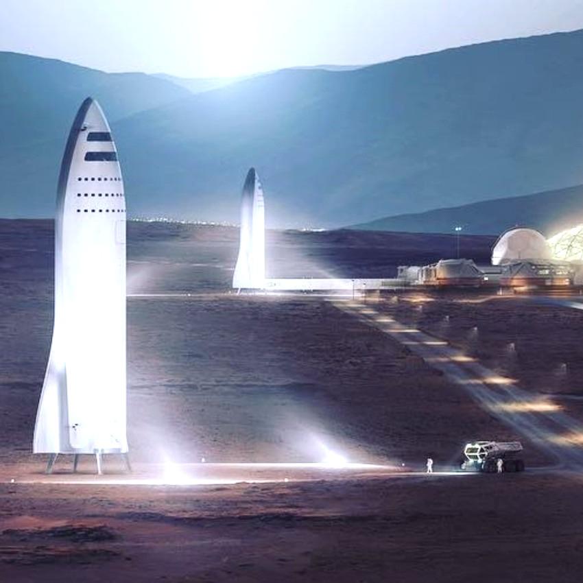 Илон Маск предложил использовать ракеты вместо пассажирских самолетов
