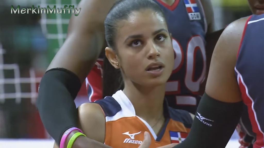 Доминиканская волейболистка покорила интернет
