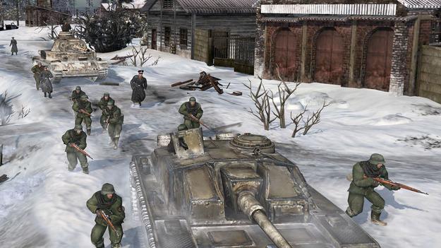 Разработчики Company of Heroes 2 продемонстрировали всю зрелищность схваток в игре