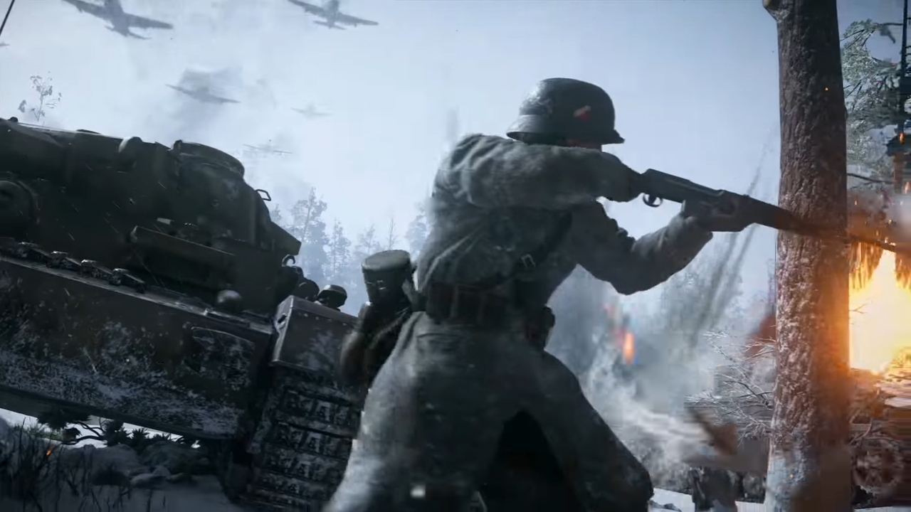 Зомби-нацисты наскриншотах Call ofDuty: WWII