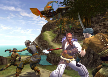 Скриншот Dungeons & Dragons Online