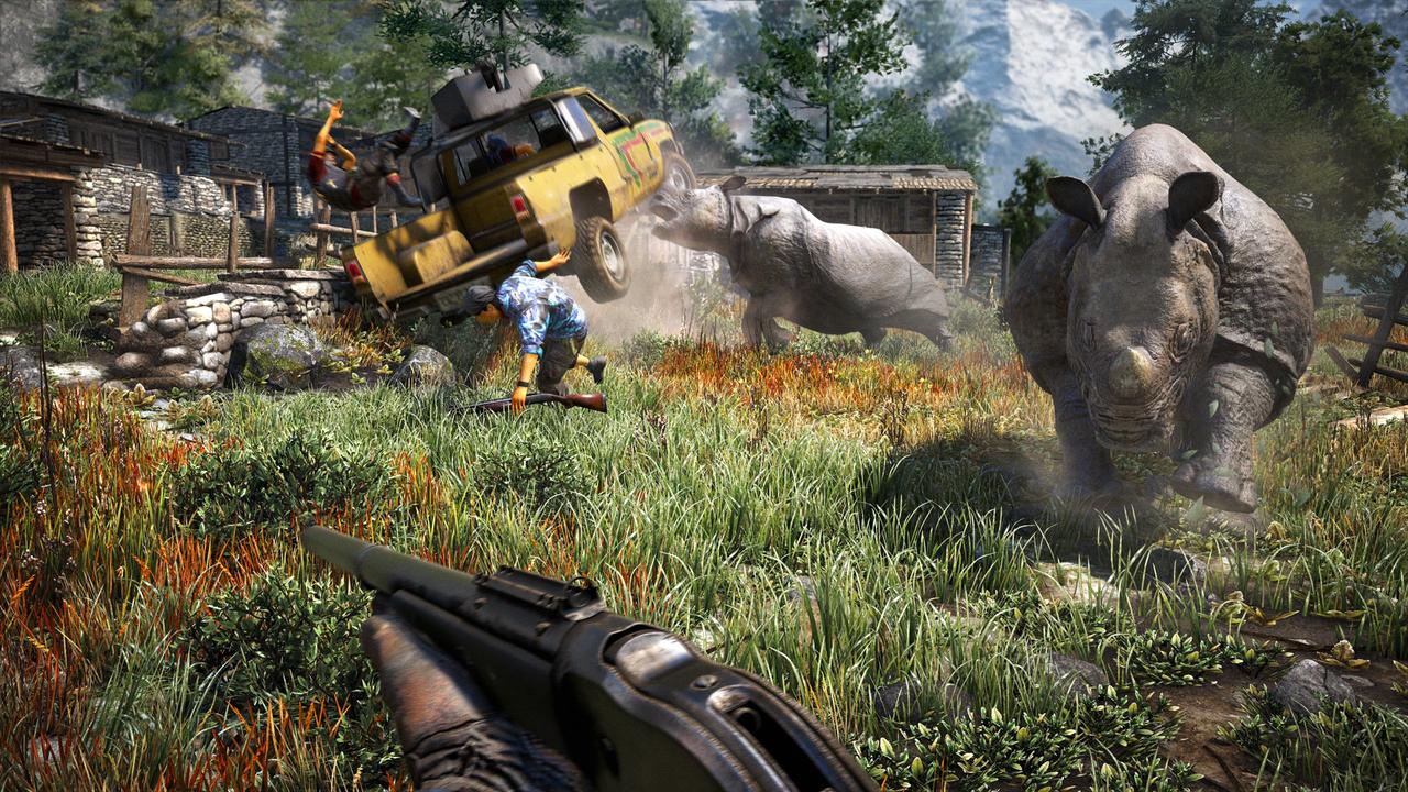 Побег из тюрьмы и охоту на Йети показали в новом ролике игры Far Cry 4