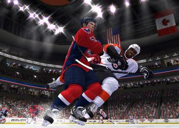 Снимок экрана NHL 14