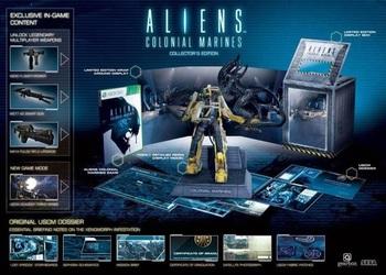 Постер коллекционного издания Aliens: Colonial Marines