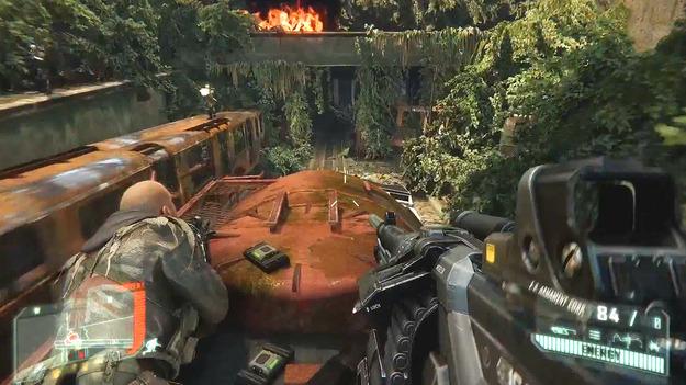 Обнародован обновленный видеоролик к игре Crysis 3