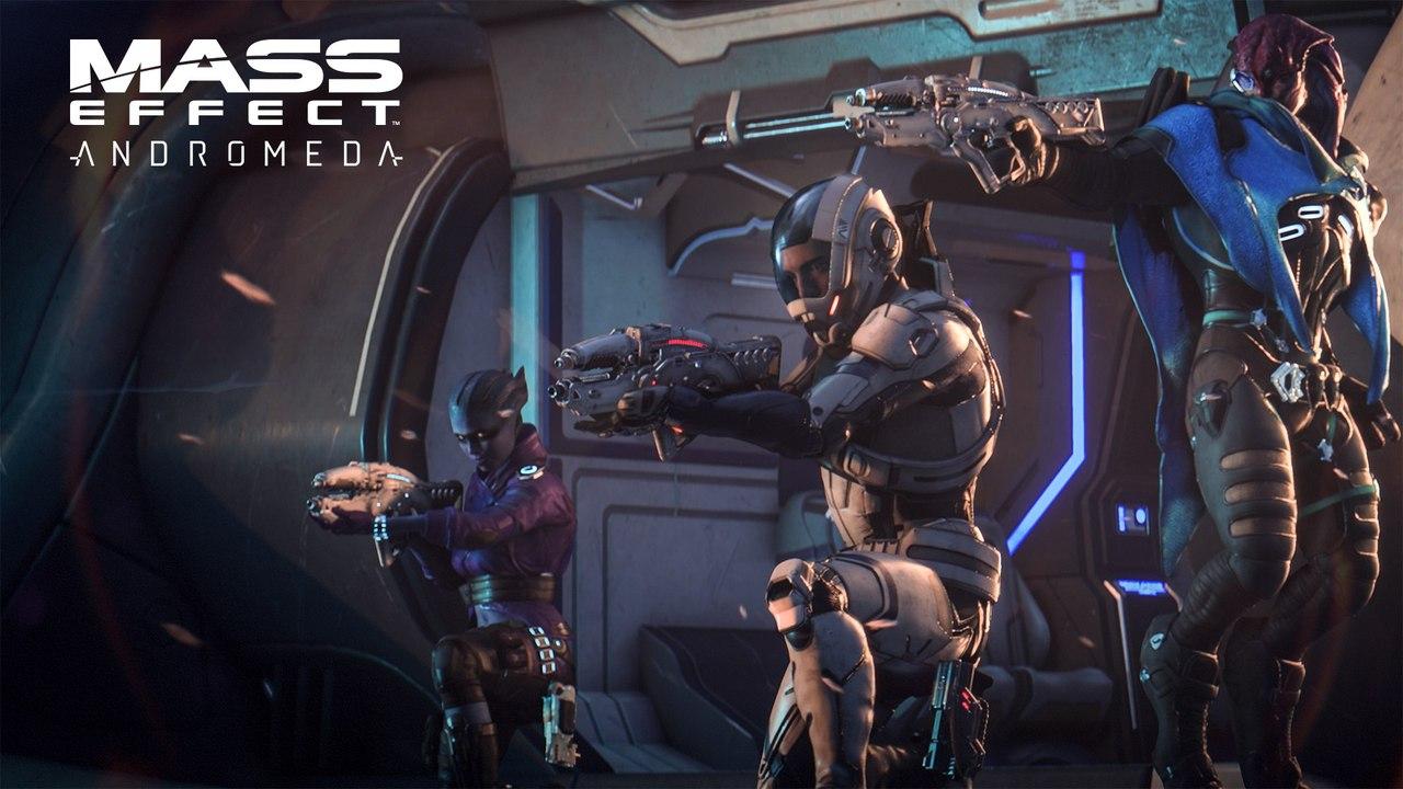 Мультиплеер Mass Effect: Andromeda в свежем трейлере