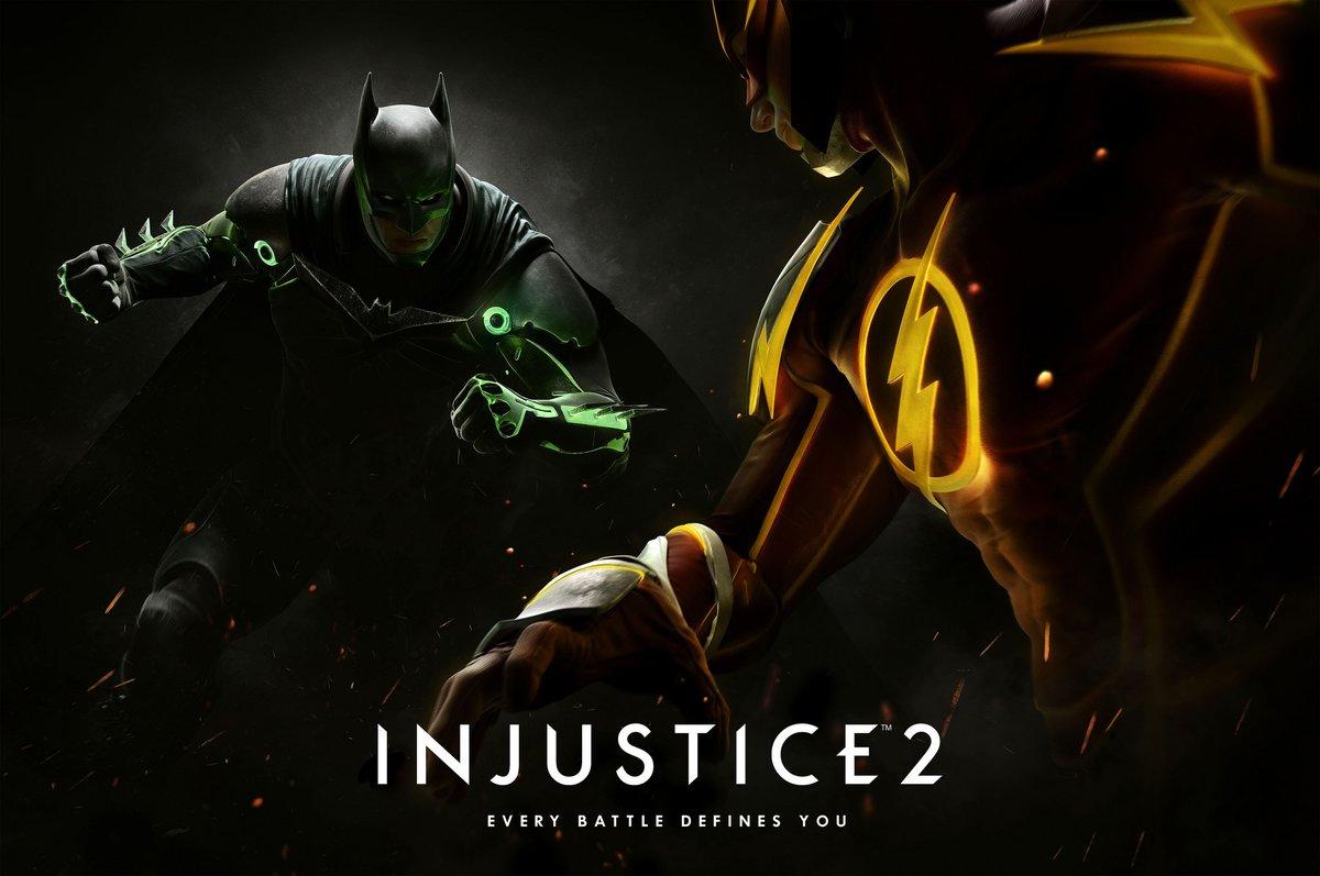 Injustice 2: намеки ипостер