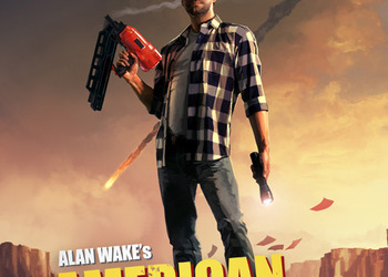 Бокс-арт Alan Wake American Nightmare