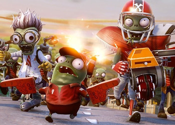 Снимок экрана Plants vs Zombies: Garden Warfare