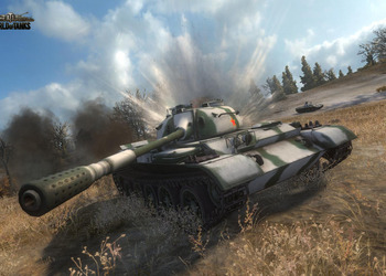 Снимок экрана World of Tanks