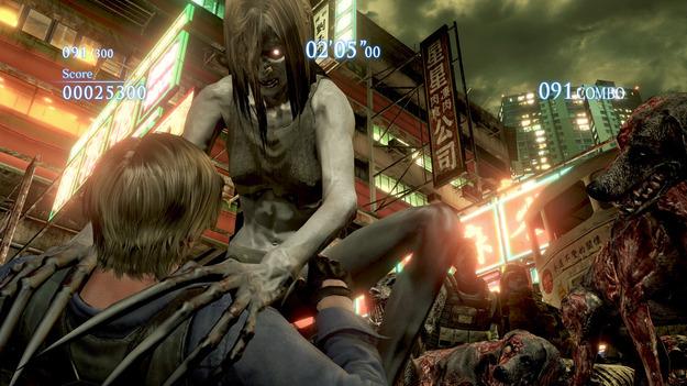 Capcom продемонстрировала свежее видео с персонажами Left 4 Dead 2 в игре Resident Evil 6