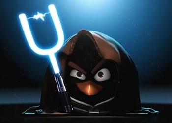 Снимок экрана Angry Birds: Star Wars