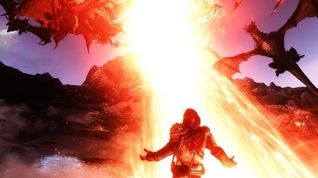 Bethesda выпустит добавление Dragonborn для PC-версии Skyrim  сегодня