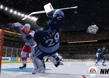 Снимок экрана NHL 12