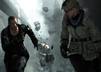 Снимок экрана Residnet Evil 6