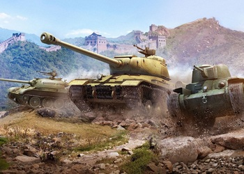 Концепт-арт китайской ветки World of Tanks