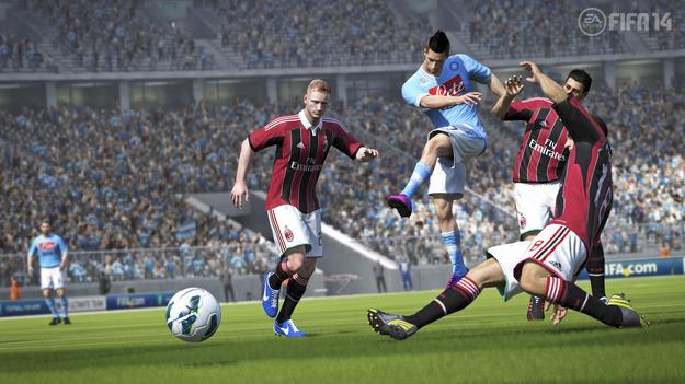 EA Спортс показала усовершенствованные системы геймплея игры FIFA 14
