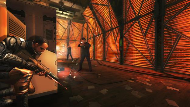 Создатели игры Deus Ex: The Fall показали геймплей схваток