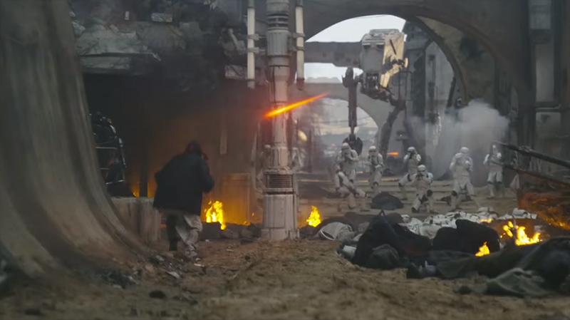 Вышел новый трейлер кфильму «Бунтарь один. Звездные войны: История»