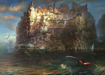 Концепт-арт Torment: Tides of Numenera