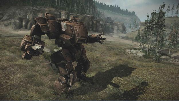 Создатели игры MechWarrior On-line продемонстрировали меха-снайпера Игоря Муромца