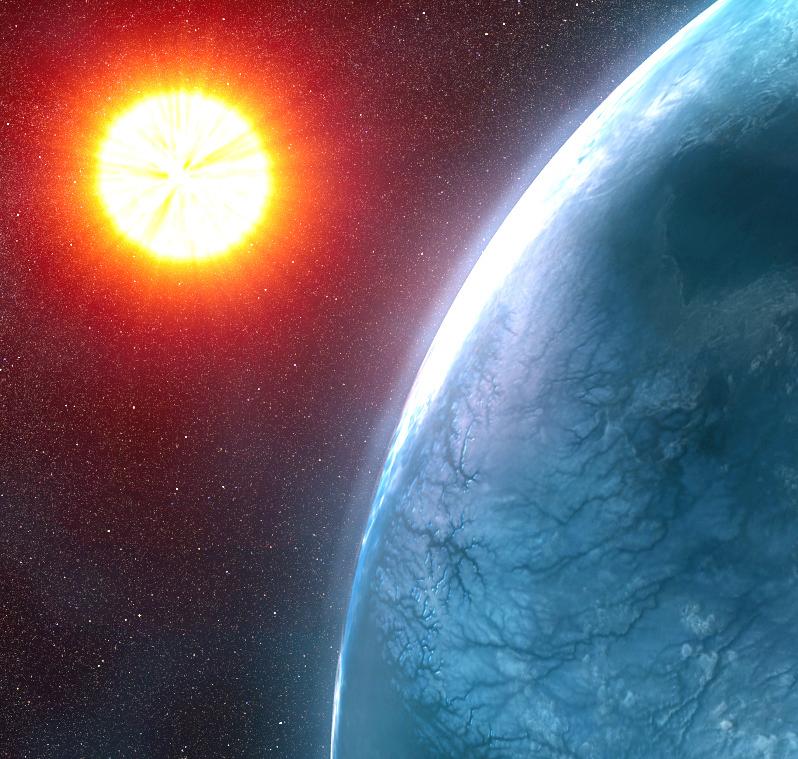 Астрономы получили особые сигналы отблизкой кЗемле звезды