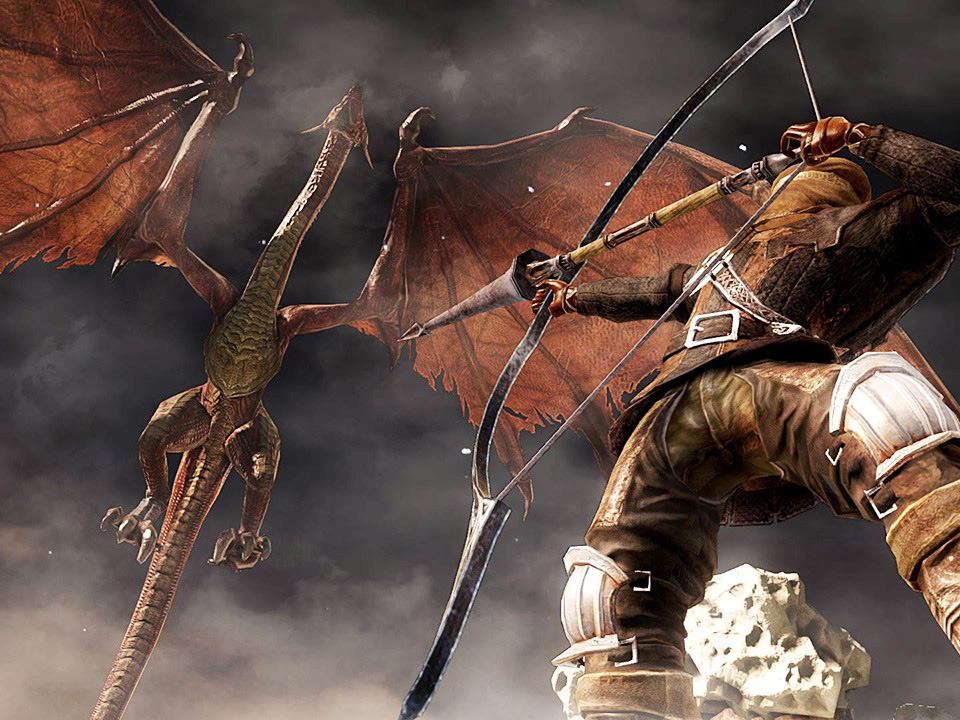 Игру Dark Souls 2 прошли меньше чем за час