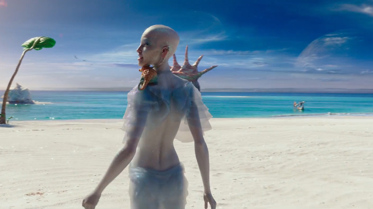 Размещен новый трейлер фильма «Валериан игород тысячи планет» Люка Бессона