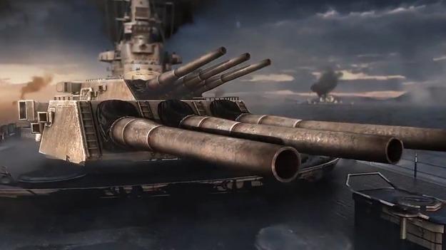 Бригада Wargaming произвела обновленный мультипликационный трайлер к игре World of Warships