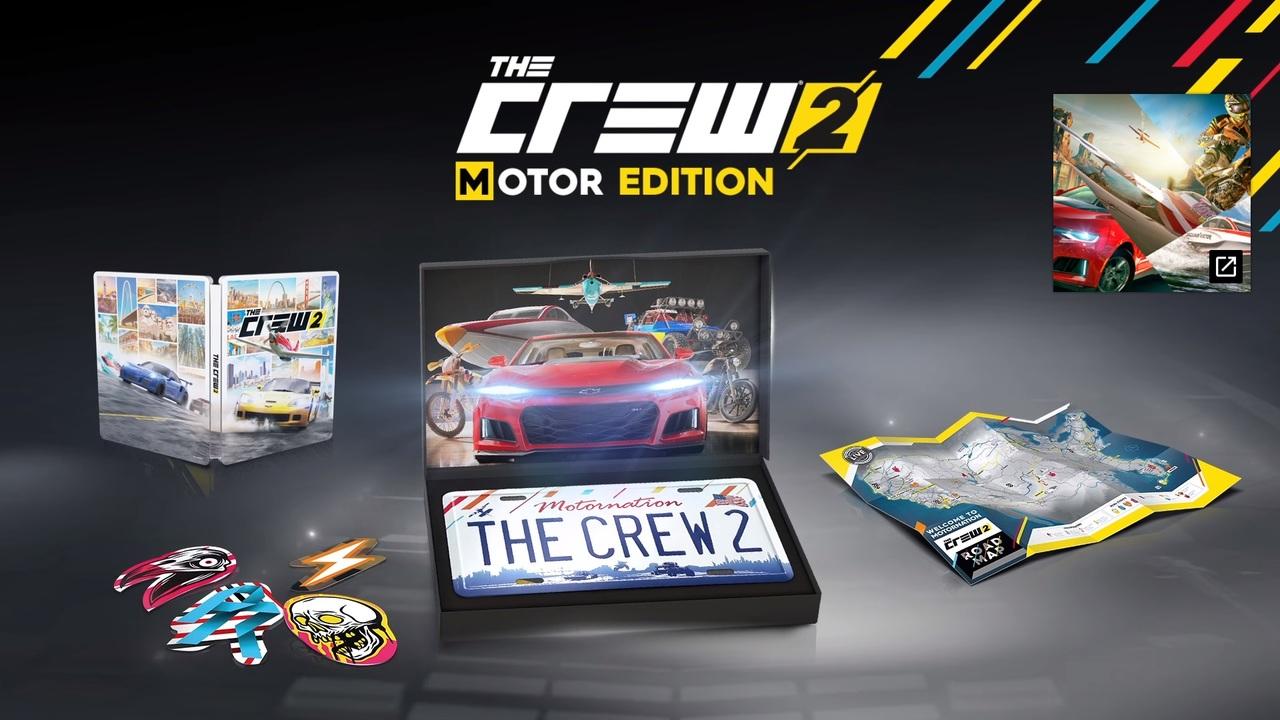 The Crew 2 выйдет 29июня, эксклюзивное печатное издание