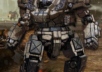 Концепт-арт MechWarrior Online