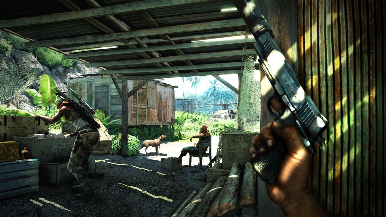 Опубликованы новые скриншоты к игре Far Cry 3 Страница 2 Gamebomb.ru