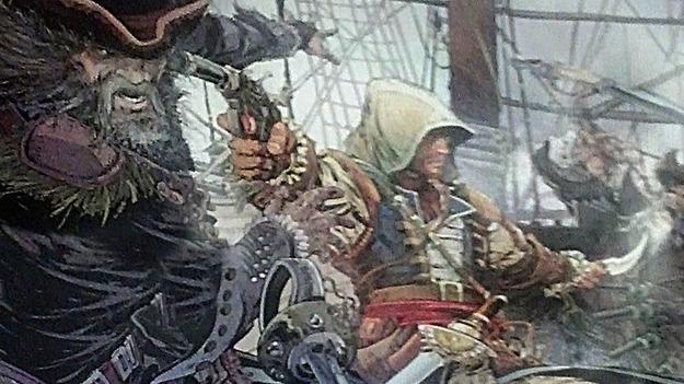 Ubisoft продемонстрировала премиальный плакат для игроков заранее заказавших Assassin'с Creed IV: White Flag