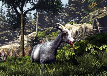 Снимок экрана Goat Simulator