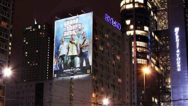 Rockstar начала маркетинговую кампанию игры GTA V