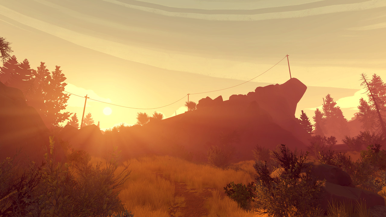 Firewatch (2016) PC - Скриншот 1