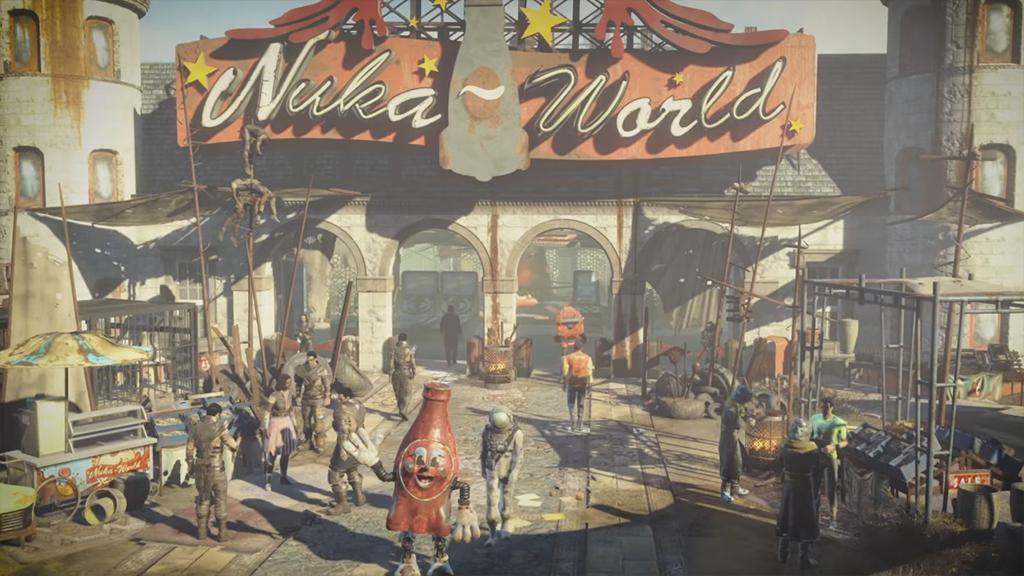 Трейлер идата выхода Nuka-World— последнего дополнения кFallout 4