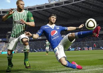 Снимок экрана FIFA 15