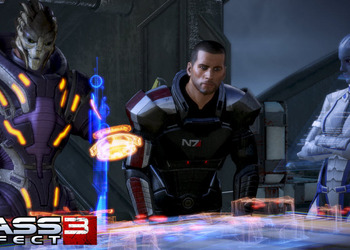 Скриншот Mass Effect 3