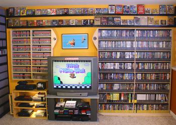 Фото коллекции видеоигр
