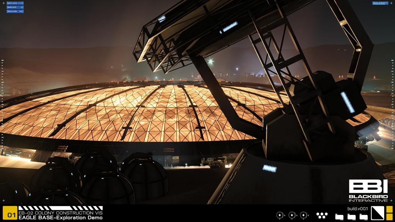 В новом видео в NASA показали и представили настоящее поселение людей на Марсе