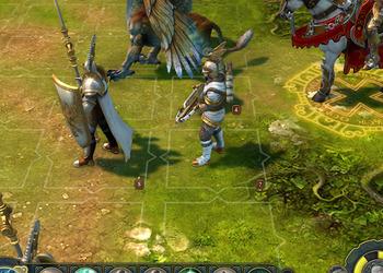 Снимок экрана Might & Magic: Heroes VI